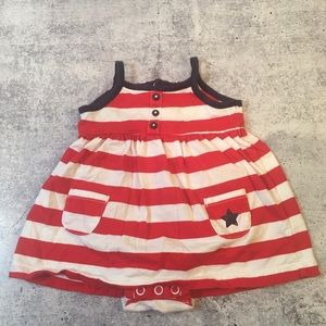 Other - 4th of July Infant Summer Dress Girl 3 months